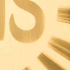 złocone (blacha mosiężna)